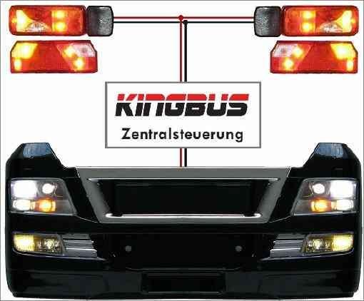 Pistenking KB-MT Kingbus Set for Tamiya MAN TGX