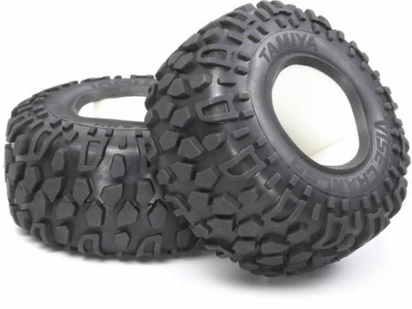 Tamiya 300051324 CR-01 tyres (2 pieces)