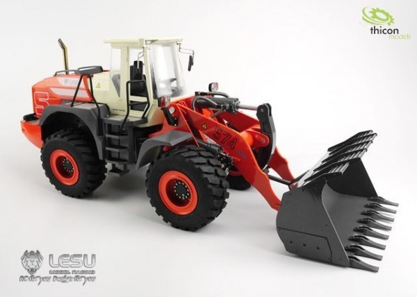 thicon 58000 wheelloader 1:15 kit with hydraulics