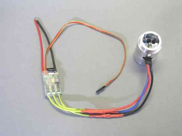 Leimbach Brushless-Motor with controller (0H995) 7,2V