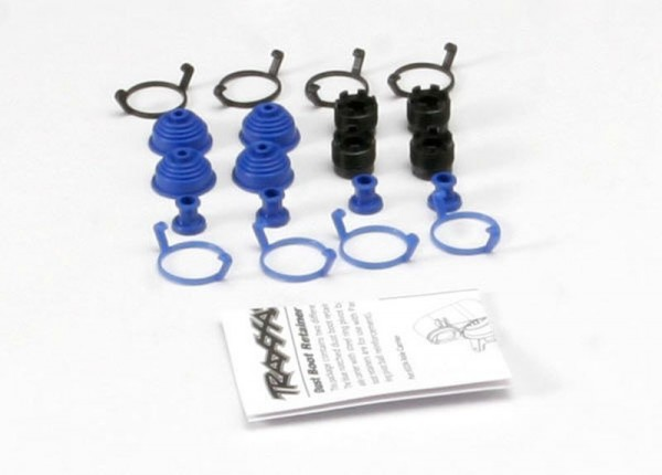 Traxxas 5378X Pivot Ball Caps(4)+Staubschutz Revo
