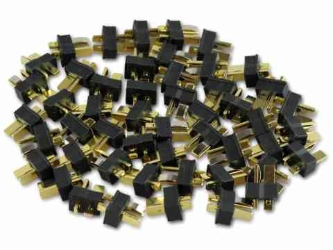 Goldstecker Mini-T-Stecker