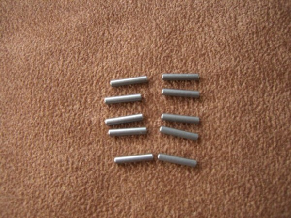 cylindrical pins 2x10mm (10 pieces)
