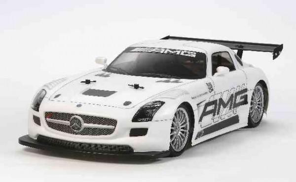 Tamiya 300058566 Mercedes-Benz SLS AMG GT3 (TT-02)