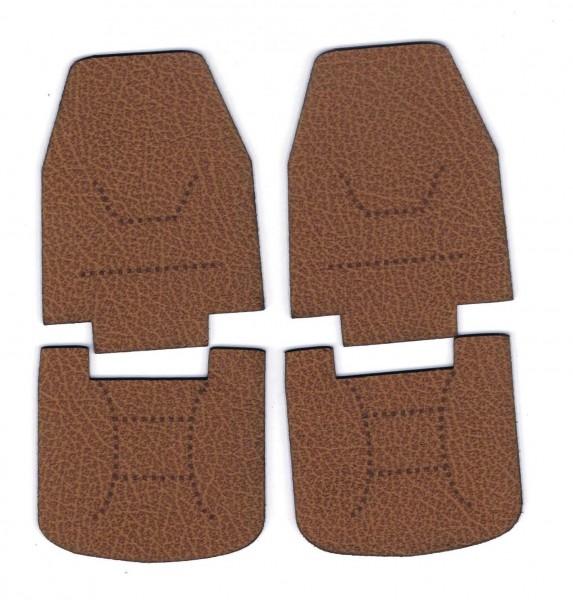 leather seats, brown for Tamiya KnightHauler