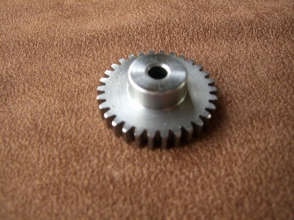 Veroma 231789 Zahnräder Modul 1,0 30Z geradeverzahnt Stahl