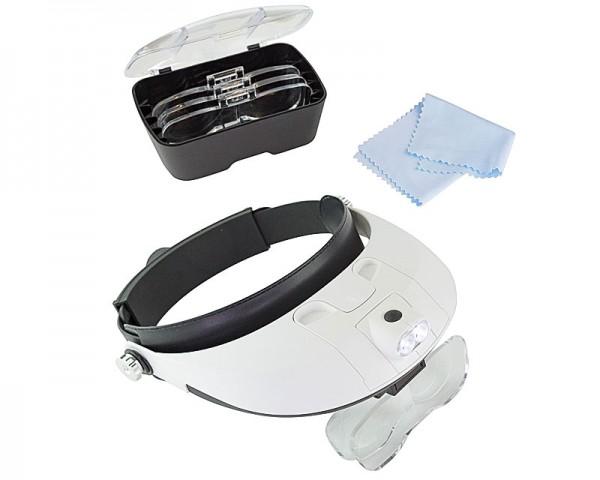 Krick 492285 Professional Kopfbandlupe mit LED Beleuchtung